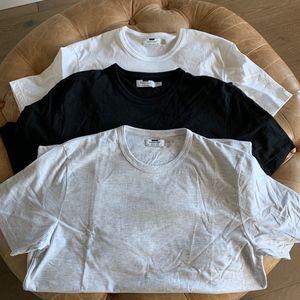 3 TOPMAN T-Shirts Size L